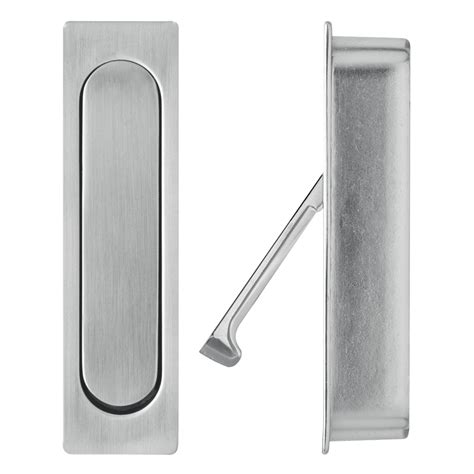 Sliding Door Handle by Delf Edge Pull Sliding Door Handle Bunnings Warehouse