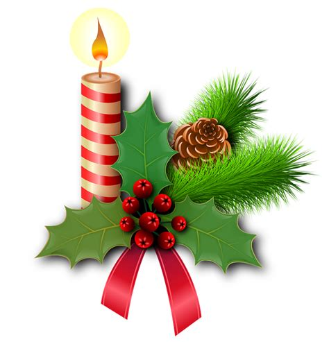 clipart natale gratis free illustration candles free image