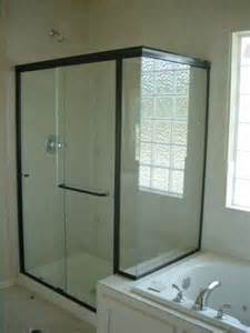 glass shower door frame door frame framed glass shower doors
