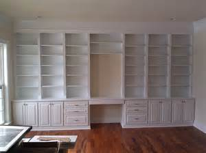 Antique Style Bookcases Handmade Built In Home Office By A K Custom Interiors