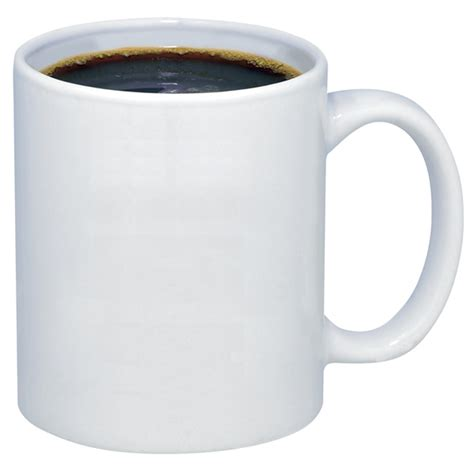 coffee cup promotional 11 oz budget white ceramic coffee mug