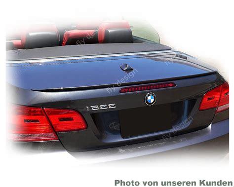 Cabrio Lackieren Preis by Schwarz Lackiert Spoiler 3er Bmw E93 Cabriolet Autospoiler