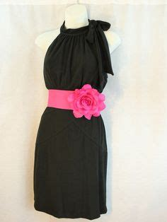black n pink on pink weddings pink black