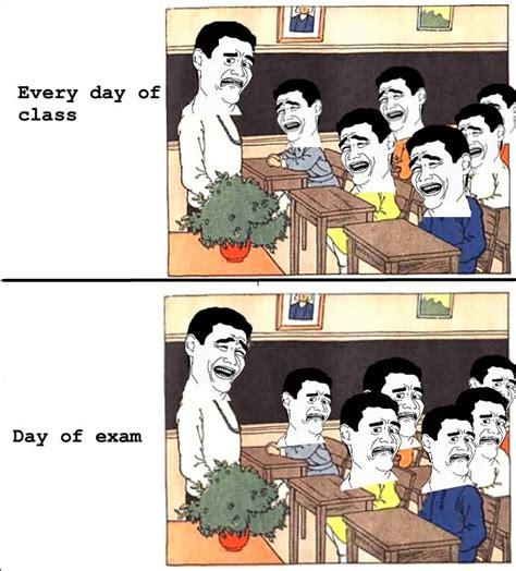 day of class meme meme