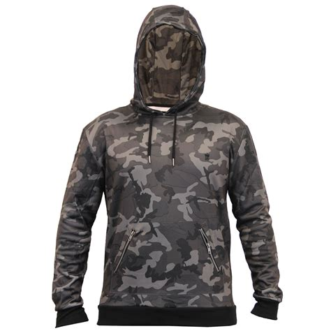 Camouflage Hooded Sweatshirt mens camouflage sweatshirts soul hooded top