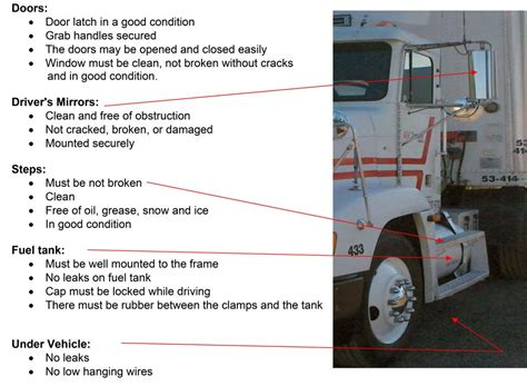tractor trailer pre trip inspection diagram semi truck pre trip inspection diagram 28 images 5