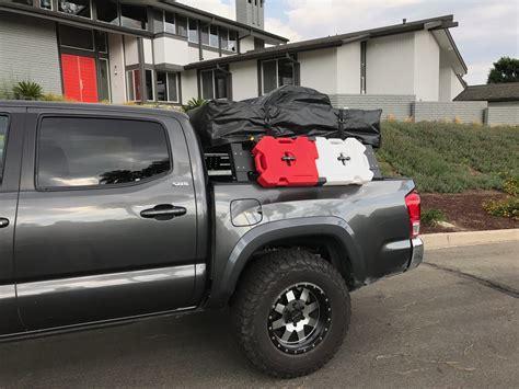 bed rack tacoma cali raised off road ultimate adventure overland bed rack