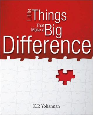 i want to make a difference books things that make a big difference by k p yohannan