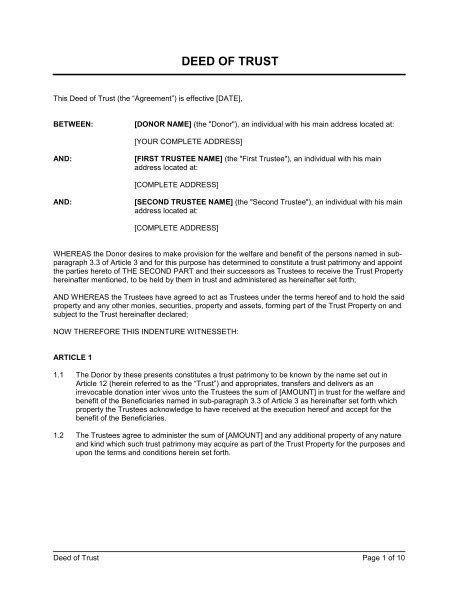 deed of trust template texas templates resume exles