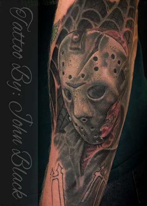 jason tattoos jason mask www pixshark images galleries