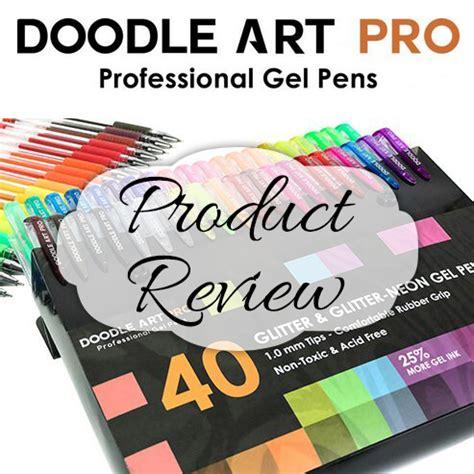 tutorial doodle art picsay pro doodle art pro 40 glitter gen pens set suziq creations