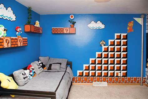 chambre mario bros un papa r 233 alise une chambre mario bros avec les