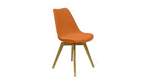 stuhl orange retro stuhl orange eiche sitz einzelstuhl design pu leder