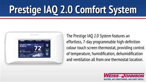 Honeywell Prestige Iaq 2 0 Comfort System Youtube