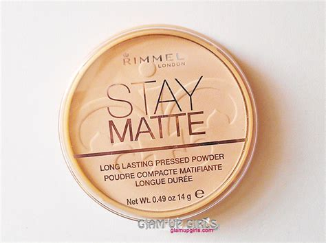 rimmel stay matte rimmel stay matte lasting pressed powder in