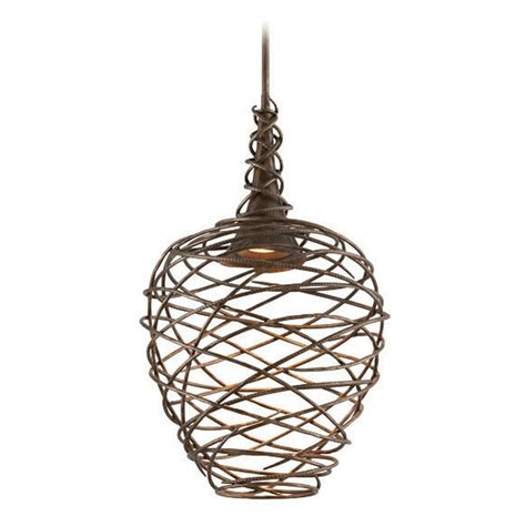 Cottage Pendant Lighting Troy Lighting Sanctuary Cottage Bronze Led Pendant Light F4185 Destination Lighting