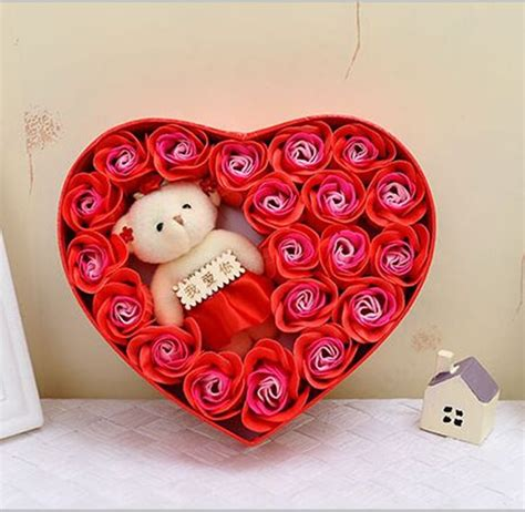 Valentines Gifts For Everyone Shaped Buys by Gift Soap Flower Gift Packing 20pcs