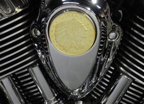 G Ci Silver Gold Cover Gold indian motorcycle scout parts customized accessories