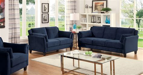 navy blue sofa and loveseat navy blue sofa set smileydot us