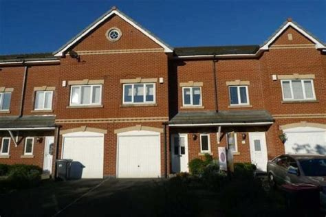 bedroom town milner manchester 4 bedroom town house for sale m27