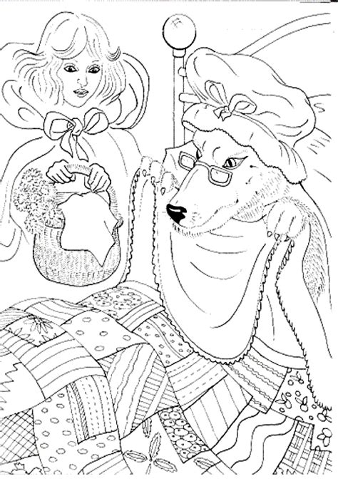 little red riding hood coloring pages coloringpagesabc com