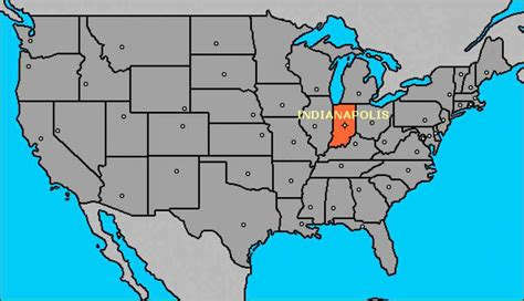 usa map states indianapolis map usa indiana map travel holidaymapq