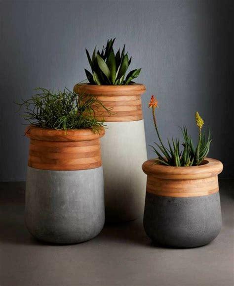 Pot De Fleur Contemporain id 233 e jardin moderne d 233 coration avec pot de fleur design