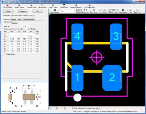pcb layout guidelines sdram 143 intel sot143 polarity pin pcb libraries forum