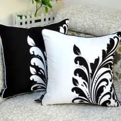 Black And White Sofa Pillows Wholesale 45 45 Cm Cool Mustache Sunglasses Print Skin Fabric Throw Cushion Cover