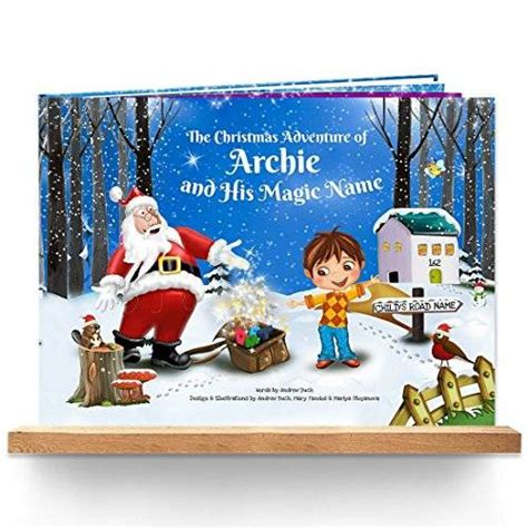 personalised children s christmas story book totally