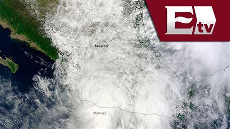 imagenes satelitales meteorologicas nasa nasa capta im 225 genes satelitales de los huracanes quot ingrid