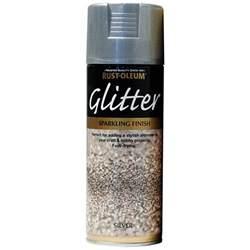 best glitter spray paint rust oleum glitter particle spray paint silver sparkling