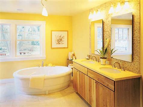 bathroom with yellow walls all shades of yellow in your dream bathroom