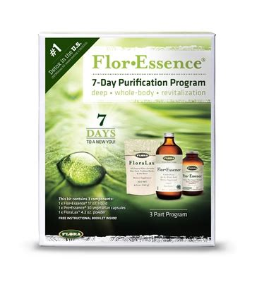 Flor De Lima Detox Water by Flor Essence 7 Day Purification Program