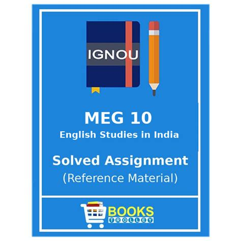 Value Of Ignou Mba In Market by Ignou Ma Meg 10 Solved Assignment Books Trolley