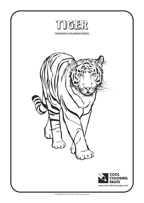 Cool Coloring Pages For by Cool Coloring Pages Mammals Coloring Pages Cool Coloring