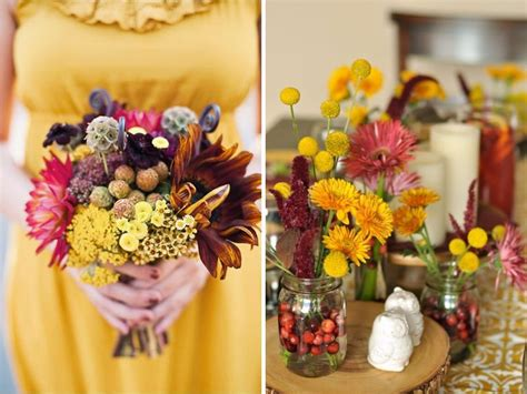 wedding color schemes for fall 12 combinations for color schemes for fall