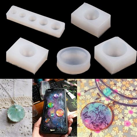 how to make resin at home diy silicone pendant mold jewelry pendant resin