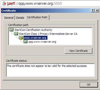 tls   web server https certificate  sign