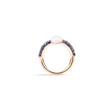 m ama non m ama pomellato pomellato m ama non m ama moonstone and sapphire ring
