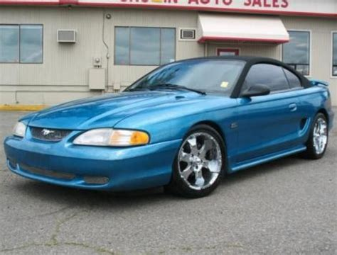 95 mustang convertible for sale ford mustang gt convertible 95 stuff we insure