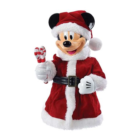 top off your christmas tree with a santa mickey tree topper