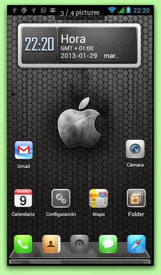 themes iphone for android download download iphone 5 android theme apk 1 0