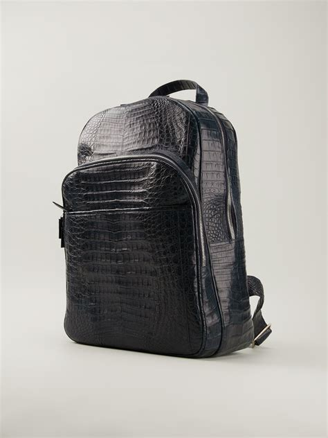 Bbb Black Crocodile Bag Intl crocodile leather backpack backpacks