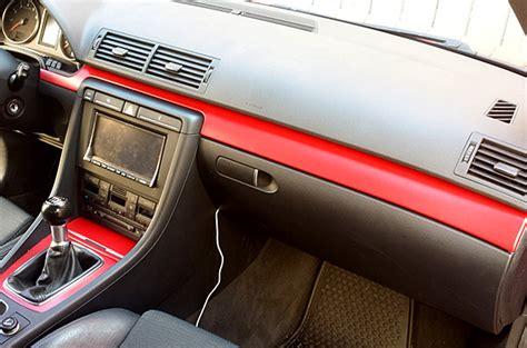 Auto Innenraum Folieren by Interieur Folierung Rot Autofolierung In Dresden