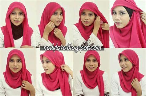 tutorial hijab bawal bawal hjab tutorial hijabi pinterest