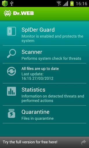 Anti Virus Dr Web Light by Dr Web Anti Virus Light Apk For Android