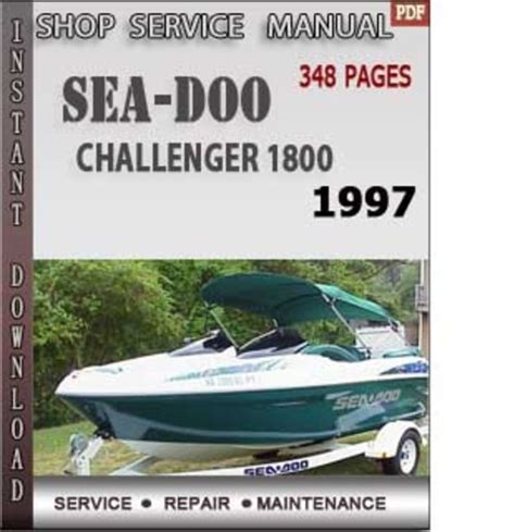 Free Seadoo Challenger 1996 Workshop Manual Download