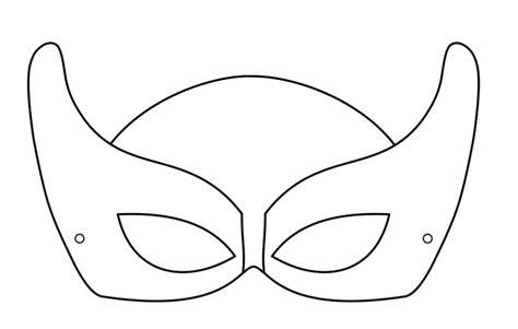 marvel black cat mask template moldes de m 193 scara de carnaval