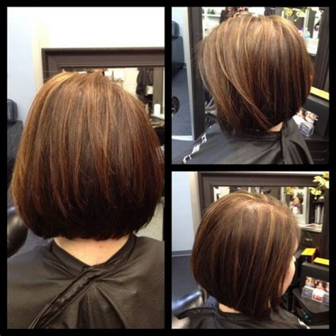 Medium Stacked Hairstyles by Stacked Bob Style Hairstyle 2013